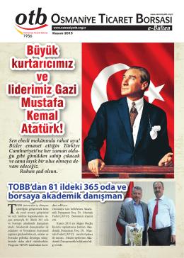 Büyük kurtarıcımız ve liderimiz Gazi Mustafa Kemal Atatürk!