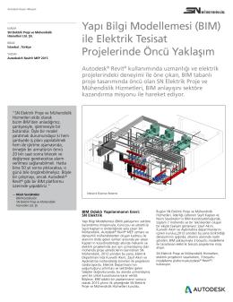(BIM) ile Elektrik Tesisat Projelerinde Öncü Yaklaşım