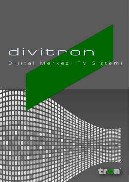 Divitron Ürün Broşürü