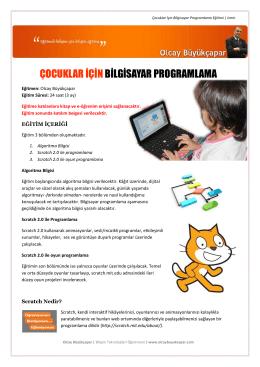 Ayrıntılı bilgi dosyası PDF