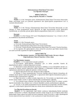 İndir - Kahramanmaraş Sütçü İmam Üniversitesi