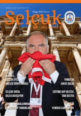Selçuk Dergi Ekim Sayısı