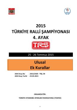 2015 türkiye ralli şampiyonası 4. ayak