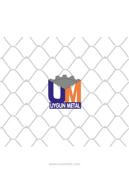 katalog - UM Uygun Metal Ankara Tel Örgü