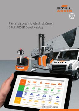 Firmanıza uygun iç lojistik çözümler: STILL ARSER Genel Katalog