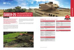 saber-25 - FNSS Savunma Sistemleri