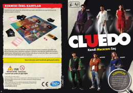 Cluedo Instructions