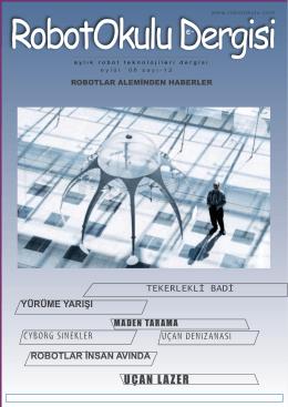 RobotOkulu e-Dergisi Sayı 12