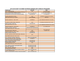 2015-2016 izvet ve diğer veteran dernekleri turnuva programı