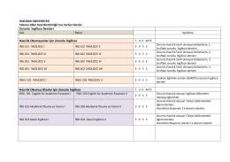 Zorunlu İngilizce Dersleri Hazırlık Okumayanlar için Zorunlu İngilizce