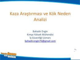 Bahadir ENGİN-_Kaza Kök