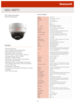 HIDC-1600TV