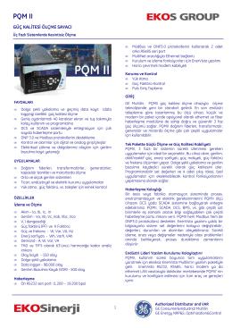 PQM II - EKOSinerji