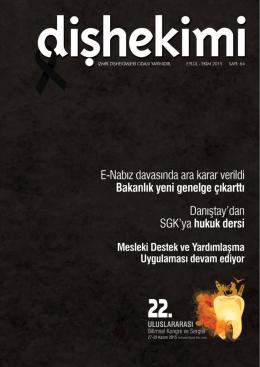 Dişhekimi 64.Sayı - İzmir Dişhekimleri Odası