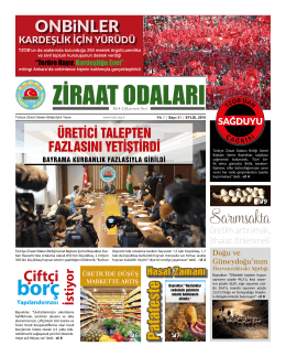 Eylül 2015 Gazete