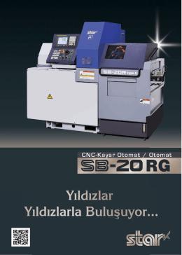 SB-20RG / PDF formatındaki Kataloğu indirmek