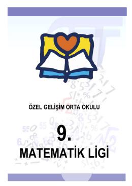 9.Matematik Ligi Şartnamesi