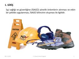 Limanlarda İş Sağlığı Ve Güvenliği: HOPA Limanı Uygulaması