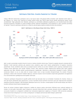 Şehirleşme Odak Notu: Anadolu Kaplanları`nın Yükselişi