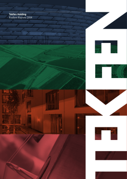 Tekfen Holding Faaliyet Raporu 2014