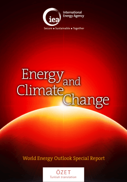 publication - International Energy Agency
