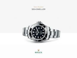Rolex Sea-Dweller 4000 Saati : 904L çelik