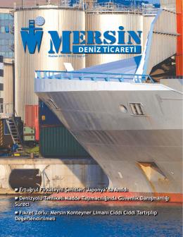 Deniz Ticareti Dergisi Haziran 2015 Sayısı