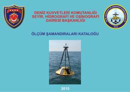ölçüm şamandıraları kataloğu deniz kuvvetleri komutanlığı seyir