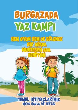 Burgazada Yaz Kampı