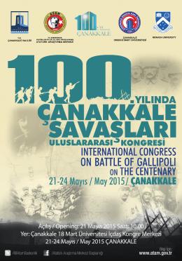 kongre programı - Atatürk Araştırma Merkezi