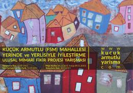 Poster: Küçük Armutlu Yarışma Çağrısı
