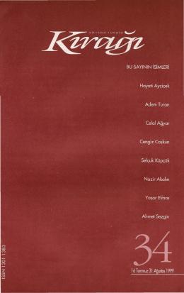 Kırağı Dergisi 34. Sayısı