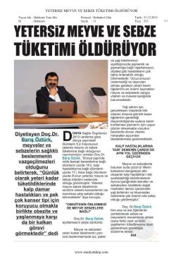Balıkesir Yenisöz Gazetesi