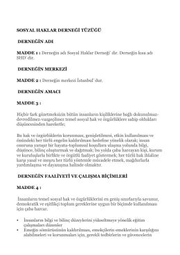 tüzük-pdf - sosyal haklar derneği