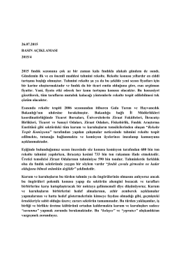 (26.07.2015) 4 - Ordu Ticaret Borsası