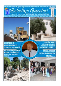 2 Eylül 2015 - Didim Belediyesi