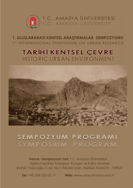 program - Dr.Ali Kemal ARKUN
