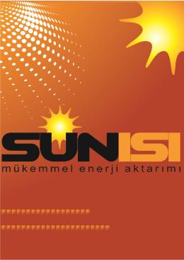 teknik özellikleri - Sun Isı Direnç Sanayi