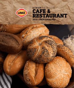 Cafe Restaurant Kataloğu pdf dökümanını indir