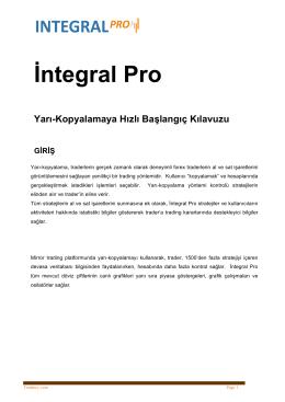 İntegral Pro - İntegral Menkul