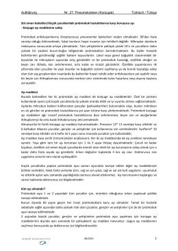 Impfaufklärungsbogen Pneumokokken