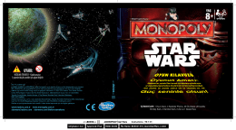 Monopoly Star Wars Instructions