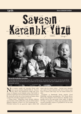 Rusya`da kaybolan çocuklar - Devlet Arşivleri Genel Müdürlüğü