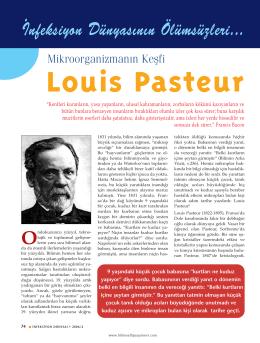 Louis Pasteur - İnfeksiyon Dünyası
