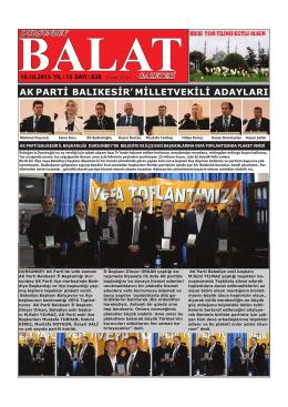 BALAT. 827.indd - balat gazetesi resmi sitesi