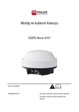 Montaj ve kullanım kılavuzu - Müller Elektronik GmbH & Co.