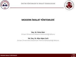 PowerPoint Sunusu - A. Alper Cerit, PhD