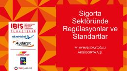 Sigorta Sektöründe Regülasyonlar ve Standartlar