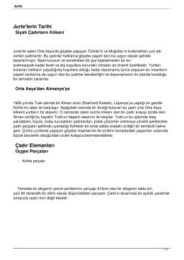 Jurte - İ.EL Sakarya İzci Grubu
