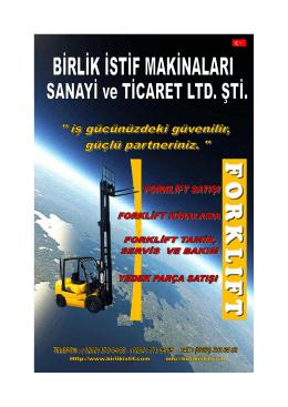 Untitled - BiRLiK iSTiF MAKiNALARI SANAYi VE TiCARET LTD. STi